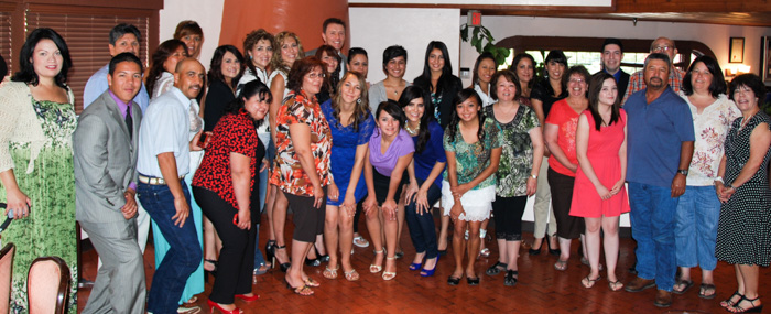 2012 Scholarship Recipients and families