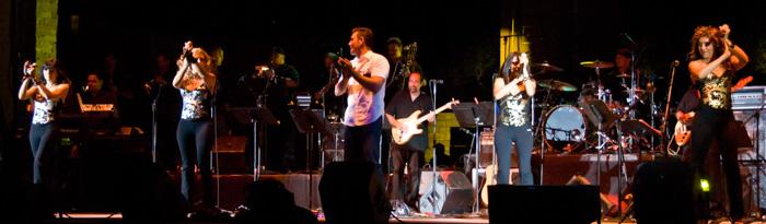 Sparx y Lorenzo Antonio en concierto